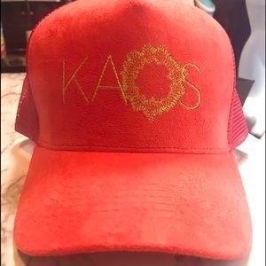 KAOS at the Palms Las Vegas Trucker Hat. Orange